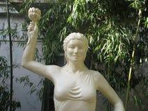 Άγαλμα της θεάς Laxmi Στοκ Εικόνα