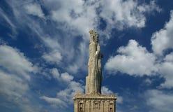 άγαλμα της Ινδίας thiruvalluvar στοκ φωτογραφία
