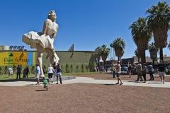 Άγαλμα της Μέριλιν Μονρόε Στοκ φωτογραφίες με δικαίωμα ελεύθερης χρήσης