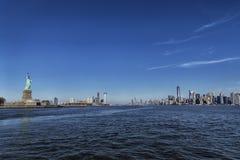 Άγαλμα της Νέας Υόρκης της ελευθερίας στοκ εικόνες