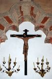 Άγαλμα της σταύρωσης - Κόρδοβα Στοκ φωτογραφία με δικαίωμα ελεύθερης χρήσης