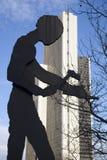 άγαλμα της Φρανκφούρτης στοκ φωτογραφία