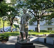 Άγαλμα της Barbara Jordon στοκ εικόνες