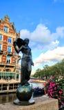 Άγαλμα του Άμστερνταμ Architektur Στοκ Εικόνες