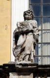 Άγαλμα του αποστόλου στο dei Santi ΧΙΙ εκκλησιών Apostoli στη Ρώμη Στοκ εικόνα με δικαίωμα ελεύθερης χρήσης