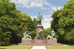 άγαλμα του Βίσμαρκ στοκ εικόνες με δικαίωμα ελεύθερης χρήσης