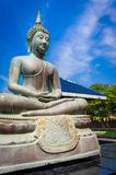 Άγαλμα του Βούδα σε Gangarama βουδιστικό στοκ φωτογραφίες με δικαίωμα ελεύθερης χρήσης