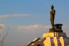 Άγαλμα του Βούδα στα βορειοανατολικά Buddhamonthon , Khonkaen Ταϊλάνδη Στοκ φωτογραφία με δικαίωμα ελεύθερης χρήσης