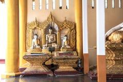Άγαλμα του Βούδα στην παγόδα Shwedagon σε Yangoon Στοκ φωτογραφία με δικαίωμα ελεύθερης χρήσης