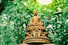 Άγαλμα του Βούδα στο ηλιοβασίλεμα Στοκ φωτογραφία με δικαίωμα ελεύθερης χρήσης