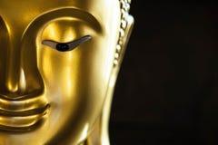Άγαλμα του Βούδα στο Μαύρο στοκ φωτογραφίες με δικαίωμα ελεύθερης χρήσης