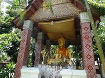 Άγαλμα του Βούδα στο μοναστήρι σε Luang Prabang, Λάος Στοκ εικόνες με δικαίωμα ελεύθερης χρήσης