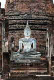 Άγαλμα του Βούδα στο ναό sa-Si Wat στο ιστορικό πάρκο του SU Στοκ Εικόνα