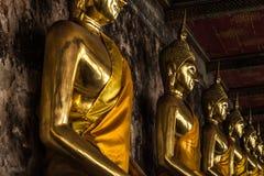 Άγαλμα του Βούδα της Ταϊλάνδης και της Ασίας Στοκ Φωτογραφία