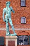 άγαλμα του Δαβίδ Στοκ εικόνες με δικαίωμα ελεύθερης χρήσης