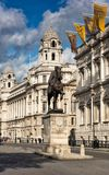 Άγαλμα του δούκα του Καίμπριτζ, Γουάιτχωλ Στοκ φωτογραφία με δικαίωμα ελεύθερης χρήσης