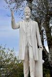 Άγαλμα του Ελευθερίου Βενιζέλος στο κέντρο της πόλης Thessal Στοκ Φωτογραφίες