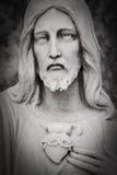 Άγαλμα του Ιησού Χριστού Στοκ Εικόνα