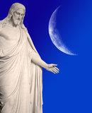 Άγαλμα του Ιησού Χριστού Στοκ φωτογραφίες με δικαίωμα ελεύθερης χρήσης