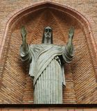 άγαλμα του Ιησού Στοκ εικόνες με δικαίωμα ελεύθερης χρήσης