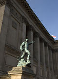 άγαλμα του Λίβερπουλ Στοκ Φωτογραφίες