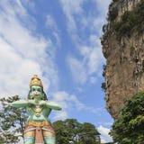 Άγαλμα του Λόρδου Hanuman στις σπηλιές Batu, στη Κουάλα Λουμπούρ, Μαλαισία Στοκ Εικόνες