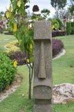 Άγαλμα του Μπαλί ή του ταϊλανδικού ύφους Στοκ Φωτογραφίες