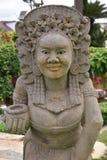 Άγαλμα του Μπαλί ή Ταϊλανδού Στοκ φωτογραφία με δικαίωμα ελεύθερης χρήσης
