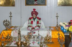 Άγαλμα του μπαμπά Harbhajan Σινγκ στο ναό κοντά σε Nathula, Sikkim, Ινδία Στοκ φωτογραφία με δικαίωμα ελεύθερης χρήσης