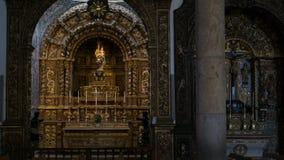 Άγαλμα του μωρού Ιησούς και ST Mary, καθεδρικός ναός Faro, Αλγκάρβε, Πορτογαλία στοκ φωτογραφία με δικαίωμα ελεύθερης χρήσης