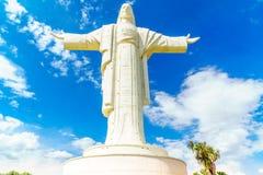 Άγαλμα του παγκόσμιου μεγαλύτερο Ιησούς Χριστού σε Cochabamba Στοκ Εικόνες