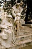 άγαλμα του Παρισιού Στοκ φωτογραφία με δικαίωμα ελεύθερης χρήσης