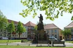 Άγαλμα του πρίγκηπας-ψηφοφόρου Frederick William, ψηφοφόρος Brandenbu Στοκ Εικόνα