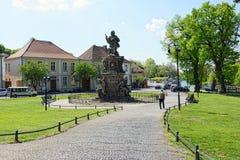 Άγαλμα του πρίγκηπας-ψηφοφόρου Frederick William, ψηφοφόρος Brandenbu Στοκ φωτογραφία με δικαίωμα ελεύθερης χρήσης
