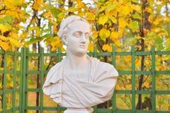 Άγαλμα του ρωμαϊκού αυτοκράτορα του Titus στοκ φωτογραφία