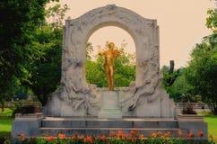 Άγαλμα του Στράους Στοκ εικόνα με δικαίωμα ελεύθερης χρήσης