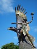 άγαλμα του Όουκλαντ στοκ φωτογραφίες