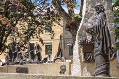 Άγαλμα του Abel Tasman - του Χόμπαρτ Στοκ εικόνα με δικαίωμα ελεύθερης χρήσης