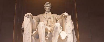 Άγαλμα του Abraham Lincoln Στοκ εικόνες με δικαίωμα ελεύθερης χρήσης