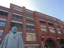 Άγαλμα του Adam Opel Στοκ φωτογραφία με δικαίωμα ελεύθερης χρήσης