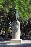 Άγαλμα του Alfonso Henriques βασιλιάδων Στοκ Εικόνες
