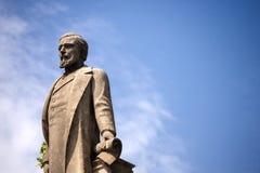 Άγαλμα του Antoni Lopez Υ Lopez - Βαρκελώνη Ισπανία Στοκ εικόνες με δικαίωμα ελεύθερης χρήσης