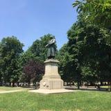 Άγαλμα του Antonio Stoppani Στοκ εικόνα με δικαίωμα ελεύθερης χρήσης