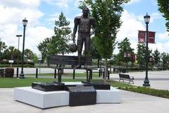 Άγαλμα του George Rogers έξω από το στάδιο του Ουίλιαμς Brice, Κολούμπια, Sc Στοκ Εικόνα