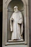 άγαλμα του Guido aretino Στοκ εικόνα με δικαίωμα ελεύθερης χρήσης