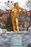 άγαλμα του Johann strauss Στοκ φωτογραφίες με δικαίωμα ελεύθερης χρήσης