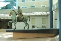 άγαλμα του Marcus Ρώμη aurelius Στοκ εικόνα με δικαίωμα ελεύθερης χρήσης
