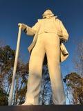 Άγαλμα του Sam Χιούστον στο Χούντσβιλ, Τέξας Στοκ Εικόνες