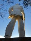 Άγαλμα του Sam Χιούστον στο Χούντσβιλ, Τέξας Στοκ Εικόνα