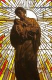 Άγαλμα του ST Anthony Στοκ Φωτογραφίες